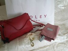 BNWT FINSBURY PARK RED LEATHER BAG BY RADLEY OF LONDON - RRP £89.00