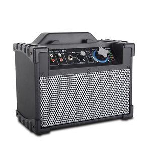 Cube Mini BT cassa amplificata portatile con Bluetooth e attacco microfono