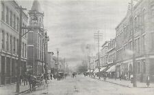 Postcard Main St. Moncton New Brunswick Canada horse and buggy Postcard