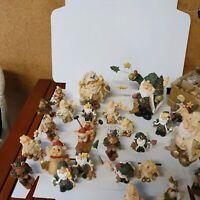 Toppreis!Schnäpchen Weihnachts Figuren-viele Teile - Krippe Figur Krippenzubehör