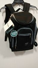 Baby Boom Diaper Bag Travel Backpack 10 Pockets Black Grey Baby Bb Gear New