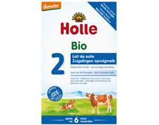 ♡♡ Holle ♡♡ Lot de 3 Lait de Suite 2 de Vache - Dès 6 mois - 3 x 600 g