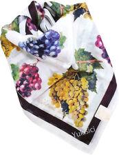 Vivienne Westwood Japan Cotton Handkerchief Grapes +Gold Logo Mute Stripes-50cm