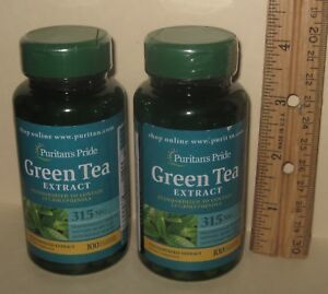 TWO, Standardized Green Tea Extract, 15% Polyphenols, 200 capsules (total)