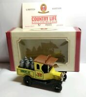 OXFORD DIECAST LIMITED EDITION MODEL T FORD COUNTRY LIFE BUTTER - NO.415 OF 8000