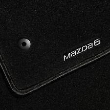 Genuine Mazda 6 Saloon 2012 onwards Carpet Floor Mat Set Luxury - GHW8-V0-320