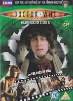 DOCTOR WHO DVD FILE 124 THE FACE OF EVIL tom baker dr SEALED CanPost3>14for£3.50