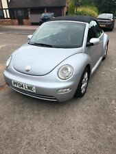 VOLKSWAGEN BEETLE 1.9 TDI CABRIOLET CONVERTIBLE SOFT TOP LOW MILEAGE LEATHER
