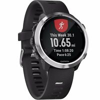 Garmin Forerunner 645 Music GPS Watch with Black Colored Band 010-01863-20