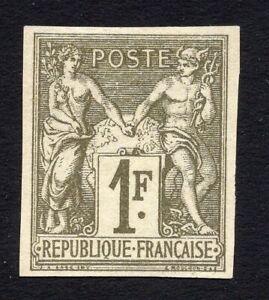 France Colonies 1879 stamp Y&T#29 MNG CV=70€ Very fresh R!R!R!