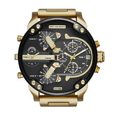 Diesel DZ7333 Men's Mr. Daddy 2.0 Gold Ion-Plated Stainless Steel Analog Watch