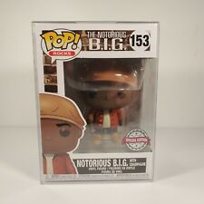 Funko Pop Rocks The Notorious B.I.G #153 Special Edition Nm