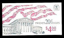 1981 - Flag Over Supreme Court - # Bk140a Complete Booklet