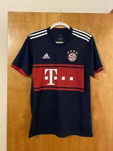 Adidas FC Bayern Munich Climacool Football Soccer Jersey Navy Shirt Small NWT