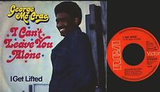 """George Mc Crae I can 't Leave You Alone VINILE single 7"""" 1974 RCA D, Oldies 70er"""