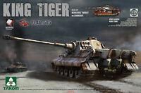 Takom 2047 1/35 Sd.Kfz.182 King Tiger Henschel Turret w/Zimmerit Pz.Abt.505 Hot
