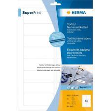 Herma Textil-/Namensetiketten »4420« 88,9 x 33,8 mm, weiß, 400 Etiketten