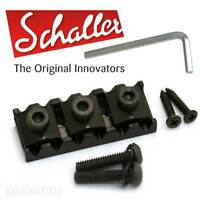 "NEW Genuine Schaller Germany Floyd Rose R5 1-3/4"" Locking Guitar Nut - BLACK"
