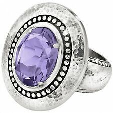 NWT Brighton Your True Color GRATEFUL Purple Tanzanite Ring Size 9 MSRP $58