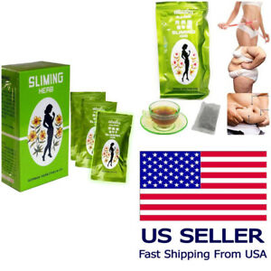 Sliming Herb 50 tea bags German Diet fit Slimming Fast Slim Detox US Seller 🇺🇸