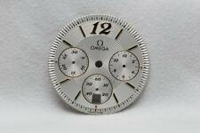 Genuine Gents Omega Silver Chronograph Dial - 27.8mm