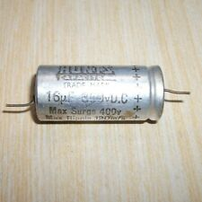 Used Vintage HUNTS 16uF  Capacitor  350V DC