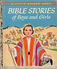 WERNER - BIBLE STORIES - 1953 SIMON & SCHUSTER - LITTLE GOLDEN BOOK