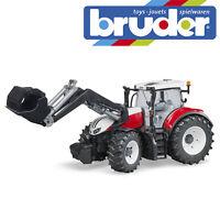 Bruder Steyr 6300 Terrus CVT Tractor & Frontloader Farm Toy Farming Model 1:16