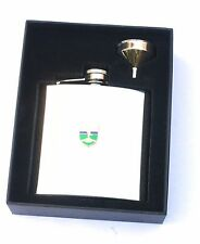 Royal Signals Shield Regiment  6oz Hip Flask Military Personalised Gift BGK30