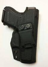 Fits Glock 26  - Premium Kydex Holster - IWB CCW Concealment EDC