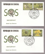 2-1st Day Covers/SENEGAL/SOS Elephant/1994