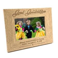 Great Grandchildren Wooden Photo Frame Gift FW174