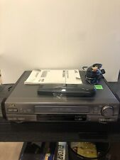 Jvc Hr-S7200U Super Vhs Vcr Plus used. Tested With Remote And Manual All Working