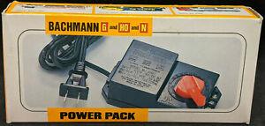 Bachmann HO, N Scale Hobby Transformer 6607 Train Power Pack AC/DC