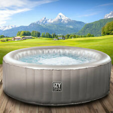 Whirlpool IZY Spa In-Outdoor Pool Wellness Heizung Massage aufblasbar Ø165x70cm