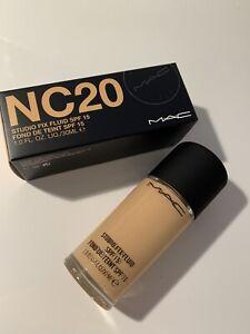 MAC Studio Fix Fluid NC20 Makeup Neu OVP