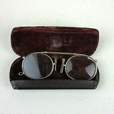 Antique Pince Nez Spectacles Case Eye Glasses Occular Steampunk Prop Teddy Bear
