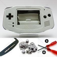 Nuevo Blanco Nintendo Game Boy Advance Gba Carcasa (Case/Shell/vivienda) y pantalla
