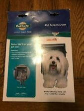 PetSafe Pet Screen Door Dog/Cat Door for Screen Door, Window and Porch Use Small