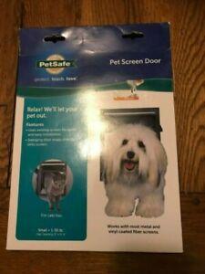 PetSafe Pet Screen Door Dog/Cat Door for Screen Door, Window and Porch Use Small