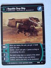 Star Wars TCG -  SR - Sith Rising - Republic Drop Ship 21/90 NM/Mint