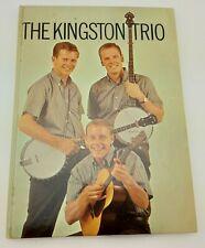 1960 The Kingston Trio Autographed Nick Reynolds Random House Program Book