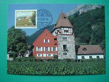 Liechtenstein Maximumkarten Nr. 113 Liechtensteiner Maler 1993 (3 Karten)