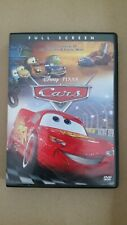 DISNEY PIXAR Cars Animated with Owen Wilson DVD FULL SCREEN Like New unscratched