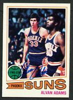 Alvan Adams #95 signed autograph auto 1977-78 Topps Basketball Trading Card