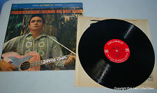 Johnny Cash ‎Songs Of Our Soil LP 2 eye orig inner sleeve 1959 Stereo CS 8148