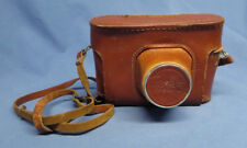 Original FED 5 Soviet Russian CCCP USSR Brown Leather Camera Case Bag Cover