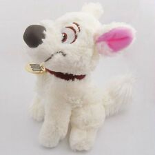 "Disney Bolt Dog Imperfect Low Quality Plush Toy Doll 8"" New Cheap Usa Seller"
