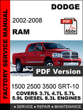 car truck service repair manuals for ram ebay rh ebay com Lifted Dodge Ram Ram Logo Dodge