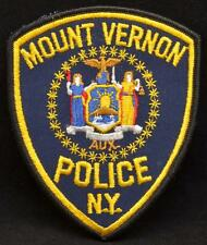 Mount Vernon New York Police Department Officer Embroidered LEO Shoulder Patch